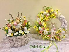Diy Ostern, Sugar Art, Diy Flowers, Easter Crafts, Floral Arrangements, Floral Wreath, Diy Crafts, Wreaths, Display
