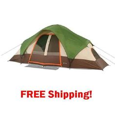 Tent 8 Person Dome Camping Hiking  Outdoor Family Cabin Hunting Campers