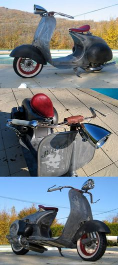 Retro Vespa Goodness