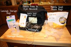 Adventures in Breastfeeding: Pumping. Tips from a working mom (RN!). This will be a great resource for me some day!