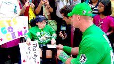 John Cena grants his 300th Wish