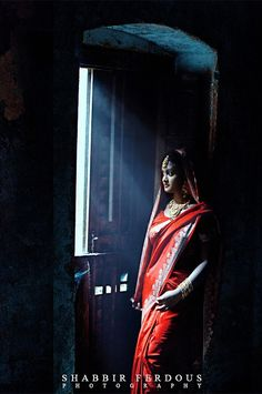 Saree portrait.