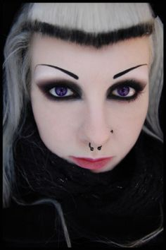 16 best iva insane images  goth makeup gothic makeup makeup