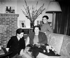 Queen Marie, mother of King Peter of Yugoslavia, at her English country home with her two younger sons, Prince Andrej and Prince Tomislav. Get premium, high resolution news photos at Getty Images Princess Alexandra, Princess Beatrice, Princess Victoria, Old Things, King, Royals, Descendants, Edinburgh, Queens