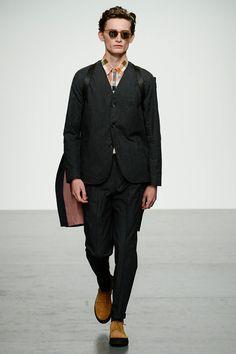 Oliver Spencer London Fashion Week Men's Spring Summer 2018 - Sagaboi - Look 7