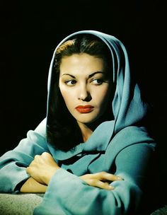 Yvonne De Carlo-best remembered for her role as Lily Munster.