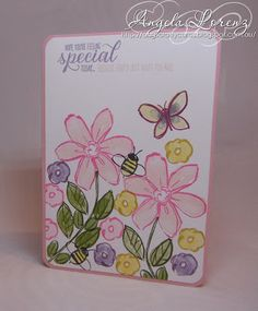 Angela Lorenz: Garden In Bloom, Stampin Up, 2015/2016 Annual Catalogue, #stampinup #gardeninbloom