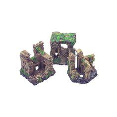 """Petco+Forgotten+Ruins+Aquarium+Ornaments+-+3+1/2"""";H.+Poly-resin+ornament+features+realistic+detailing+and+fish-safe+materials.+Assorted+styles. - http://www.petco.com/shop/en/petcostore/petco-forgotten-ruins-aquarium-ornaments"""