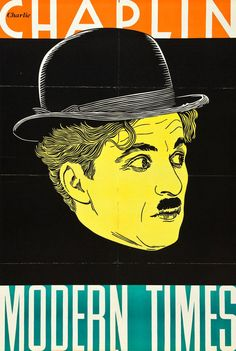 "Movie Poster of the Week: ""Modern Times"" and the Leader Press Posters on Notebook 