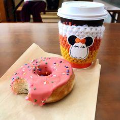 Ghost Mouse Coffee Cozy // Candy Corn // Halloween | Etsy Coffee Cup Holder, Crochet Coffee Cozy, Coffee World, Coffee Sleeve, Mug Cozy, How To Make Coffee, Coffee Lover Gifts, Halloween Accessories, Coffee Store