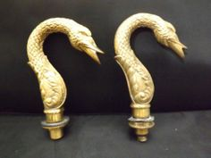 GUEST BATHROOM: Who doesn't love a swan faucet?   Antique Bronze Swan Faucet Spout | eBay $349.99