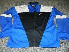 Adidas bomber jacket. Navy and sky blue. Size large Depop