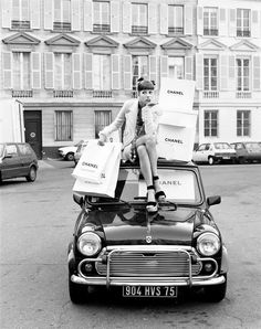 Mini Cooper Who says a Mini will change my shopping?