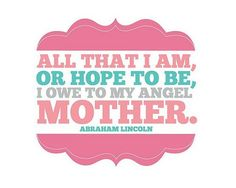 Mother's Day is right around the corner! Use these printables as decorations or unique Mother's Day gifts. Here are 9 Free Printable Mother's Day Subway Art Prints to choose from. Add a beautiful frame for a quick and easy Mother's Day gift. Mothers Day Quotes, Mothers Love, Happy Mothers Day, Daughter Quotes, Great Quotes, Quotes To Live By, Me Quotes, Inspirational Quotes, Quotable Quotes