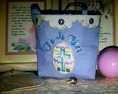 OregonPatchWorks.com - Sets - Easter Cross Gift Bag