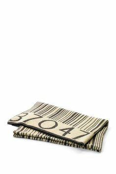 bar code blanket