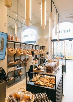 Best Home Decorating Stores id:6180114430 Bakery Shop Interior, Bakery Shop Design, Patisserie Design, Coffee Shop Design, Restaurant Interior Design, Shop Interior Design, Cafe Design, Design Design, Bagel Cafe