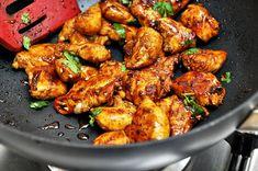 Thai style garlic chicken! Yum