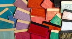 Salmon Skin Purses - These Fish Leather Handbags and Accessories are Exotic and Eco-Conscious (GALLERY)