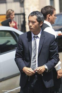 Miles (Ken Leung).  ABC's LOST.