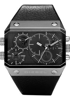 Diesel Mens Analog Multi Time Zone Chronograph Watch DZ9060