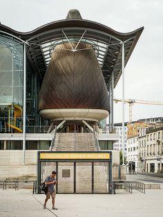 Extensão do Palácio de Justiça em Bordeaux, França