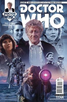 Doctor Who: The Third Doctor #1 (Photo Variant by Will Brooks).