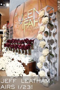 #QLShow welcomes Jeff Leatham -- florist to the stars to chat flowers and more! Tune in 1.23.14!