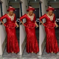 Custom Made Nigerian Sequined Vestidos Shiny Prom Dress Aso Ebi Long Sleeve Evening Gowns Event Wear Cheap Style Prom Dresses