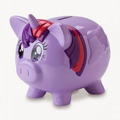 Rainbow Dash and Twilight Sparkle Piggy Banks | All About MLP Merch