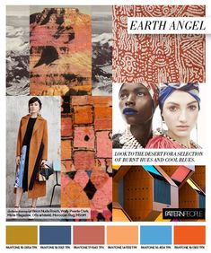 #PatternPeople SS17 trend preview, Earth Angel, on #WeConnectFashion
