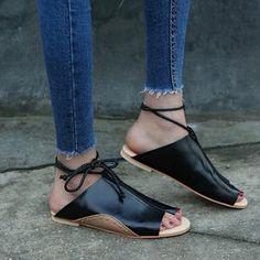 e4dc5c26a98 the good samaritan leather roman tie sandals. Platform Wedges ShoesWedge ...