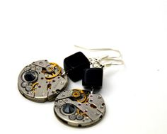 Check out this item in my Etsy shop https://www.etsy.com/listing/401057751/pair-of-steampunk-watch-movement