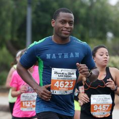 Get ready for the San Diego Rock and Roll Marathon with custom apparel made through Planet Apparel Rock And Roll Marathon, San Diego, Custom Screen Printing, Custom Clothes, Planets, Baseball Cards, Plants