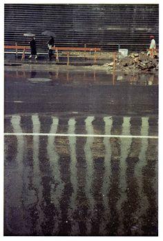 Saul Leiter, Street Scene, Courtesy Howard Greenberg Gallery, New York Saul Leiter, History Of Photography, Color Photography, Street Photography, Candid Photography, Glamour Photography, Urban Photography, Lifestyle Photography, Editorial Photography