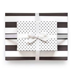 Sugar Paper Black Reversible Wrap