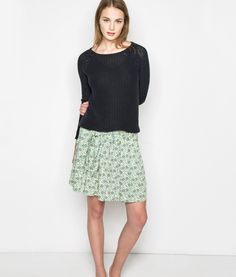 Springfield. Skirts FULL SKIRT WITH PATTERN