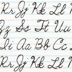 white handwriting school fabric by Timeless Treasures USA 1
