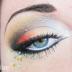 Makeup with Strass