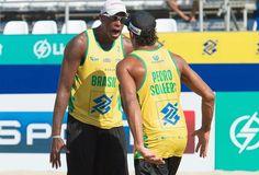 Blog Esportivo do Suíço: Brasil conquista as duas medalhas de ouro no desafio com EUA de vôlei de praia