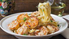 crispy cajun shrimp fettucine-1-2