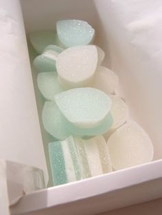 These are something like jellies which made agar, sugar and water.