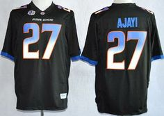 42c2e7db8 Boise State Broncos 27 Jay Ajayi Black College Football NCAA Jerseys