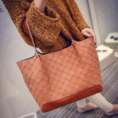 nice Faux-Leather Woven Handbag Check more at http://arropa.net/uk/accessories/product/faux-leather-woven-handbag-5/