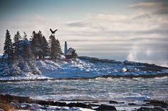 Pemaquid Point Maine by nilshanson, via 500px