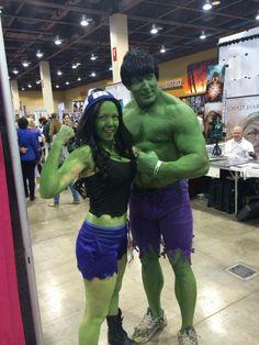 Toni Darling Double Hulk Smash! Amazing Arizona Comic Con 2014