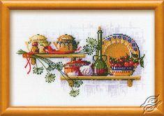 Kitchen Shelf II - Cross Stitch Kits by RIOLIS - 992
