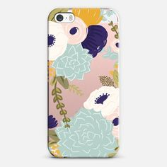 Secret Garden Florals and Succulents - Classic Snap Case
