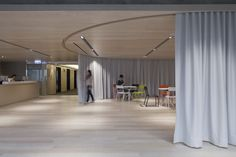 using a courtain to separate office space - Yahoo Image Search Results