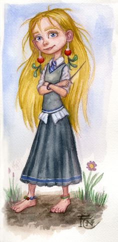Luna Watercolor Sketch by http://feliciacano.deviantart.com/art/Luna-Watercolor-Sketch-195669752